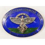 German NSFK Enamel Glider Badge Pin