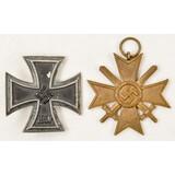 Lot of 2 German Spanish Cross and Iron Cross