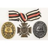 Lot of 3 German Medals