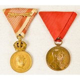 2 Austria Hungary Military Medals