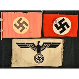 Lot of 3 German Items, Armbands
