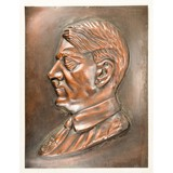 WWII German Adolph Hitler Plaque