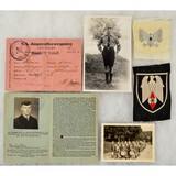 WWII German Hitler Youth Memorabilia