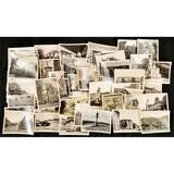 Lot of 4x5 B&W Photos of Germany