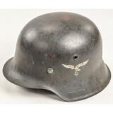 WWII German M42 Luftwaffe Helmet