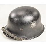 WWII German Civil Police Helmet