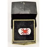 WWII Era Japanese Rising Sun Ring