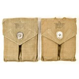 Lot of 4 M1911 Magazines & Pouches