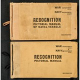 Navy WW II Ship & Plane Recognition Manuals (2)