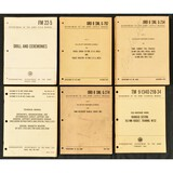 (6)US Army- Field, Technical & Supply Manuals