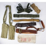 Lot of Military Belts and Straps