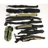 Lot of Gun and Ammo Straps/Belts/Pouch