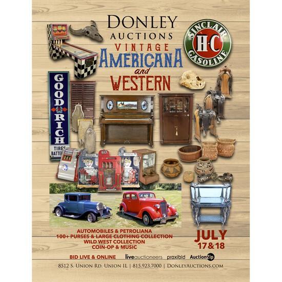 Day 1 - Vintage Americana, Western and Petroliana