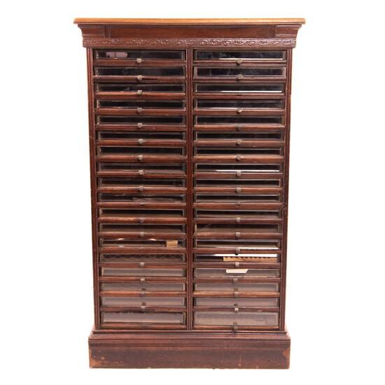 Large 36 Drawer Richardson's Spool Cabinet
