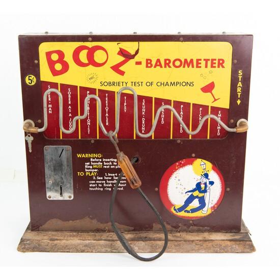 Coin Op Booze Barometer