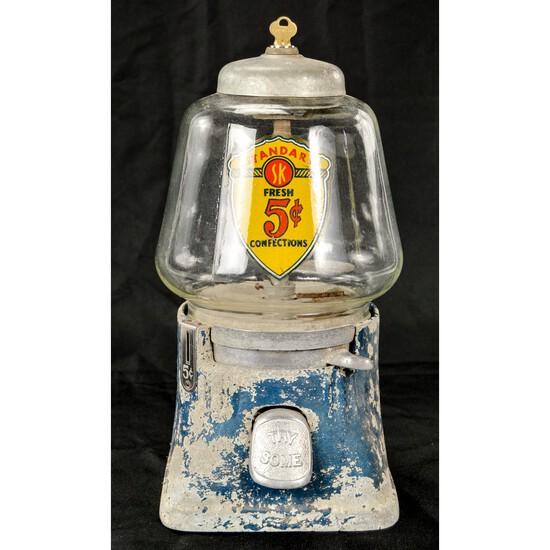 Silverking 1930's Gumball Machine