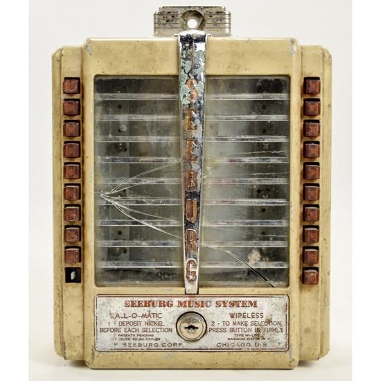 1940s Seeburg Wall-O-Matic Jukebox Remote Selector