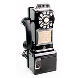 Vintage Coin Op Pay Phone