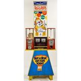 Balloon and Gum Ball Vending Machine