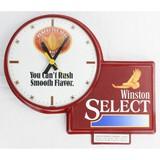 Winston Select Advertising Clock