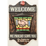 1969 Coca Cola Welcome Sign