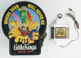 Little Kings Cream Ale and Blatz Light Up Signs