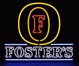 Foster's Neon Beer Advertising Sign