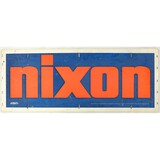Nixon For President Double Sided Sign