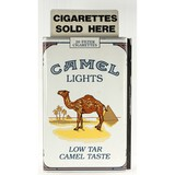 Camel Cigarette Advertisement Sign