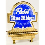 Pabst Blue Ribbon Alcohol Advertising Sign