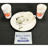 Lot of 5 Vintage Prince Ice Cream Diner Items