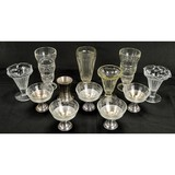 Vintage Glass Ice Cream Dishes