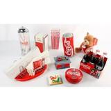 Lot of Coca-Cola Merchandise