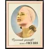 Face Bra Advertising Framed Stand Up Display