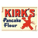 Kirk's Pancake Contemporary Single Sided Sign