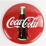 Coca-Cola 'Tacker-Type' Button Sign