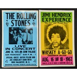 Lot of Two Concert Posters