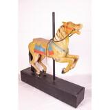 Unusual Herschell Spillman Wooden Carousel Horse