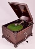 Victor Victrola VV-IX Mahogany Disc Phonograph