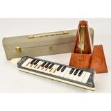 Lot of Metronome & Wind Instrument/Keyboard