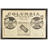 Black & White Columbia Records Advertising
