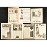 Victor Phonograph Advertisement Cutouts