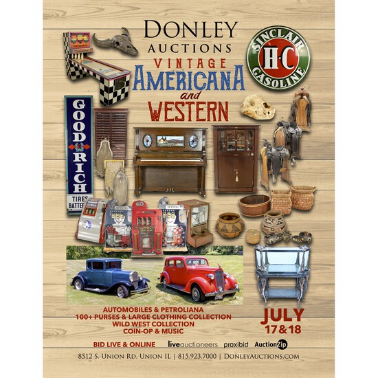 Day 2 - Vintage Americana, Western and Petroliana