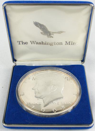 1995 Kennedy Half Dollar Half lb Solid Silver Coin