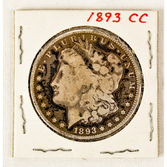 1893 Carson City Morgan Dollar