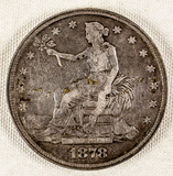 1878 Trade Dollar