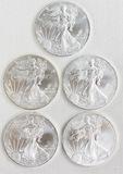 20 2014 Walking Liberty Silver Dollar Coins