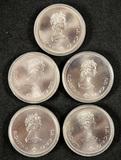 1974 10 Dollar Silver Canadian Olympics Coins