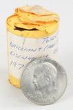 45 1970s Eisenhower Dollars
