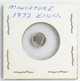 Miniature 1972 Eisenhower Dollar
